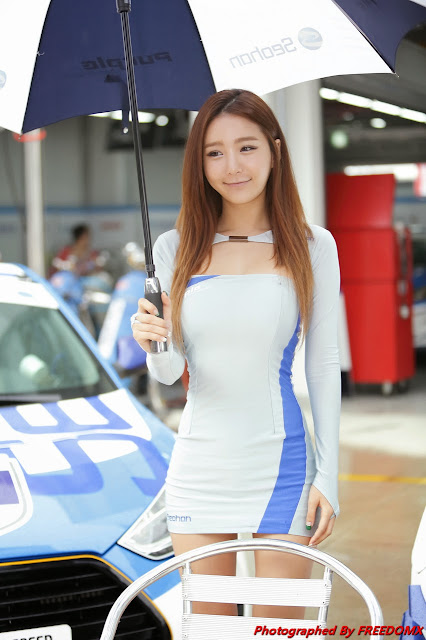 Heo Yun Mi at Korea Speed Festival 2014 | Korean HD Girls